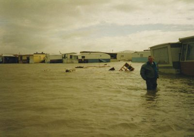 Grandad in flood